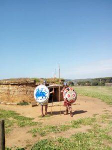 Opliti etruschi di guardia a Populonia