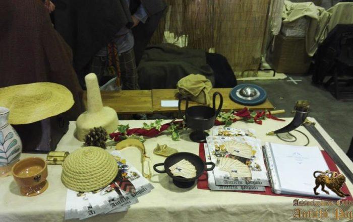 Esposizione tavolo Antichi Popoli