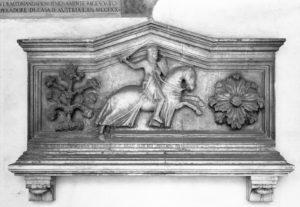 Cenotaffio Giglielmo di Dufort, Santa Croce. Firenze