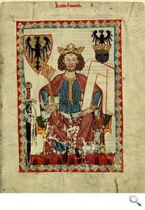 Codex Manesse, Enrico VII di Svevia