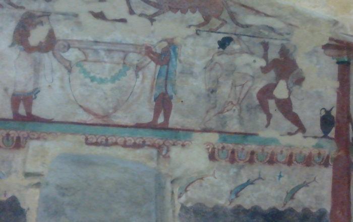 Tomba Leonesse. Tarquinia. 520 a.C.