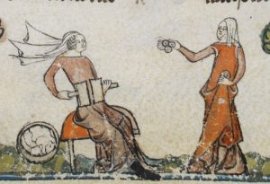 Cardatura. The Smithfield Decretals (Brit. Lib. Royal 10 E IV), c. 1300-1340_ F137V