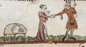 Scardassi. The Smithfield Decretals (Brit. Lib. Royal 10 E IV), c. 1300-1340_ F139V