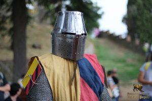 Cavaliere con alette